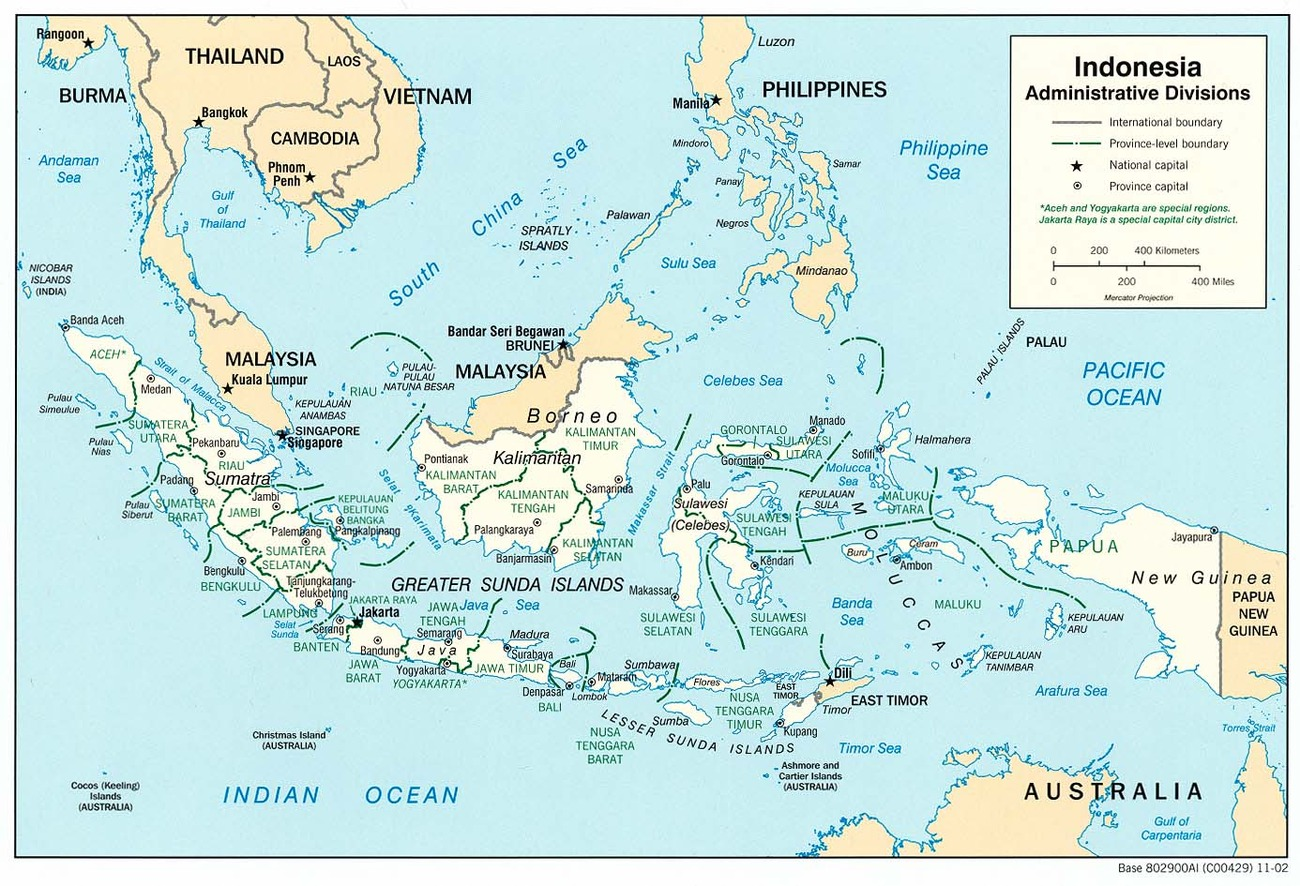Indonesia / Asia Meridionale-orientale / Asia / Paesi