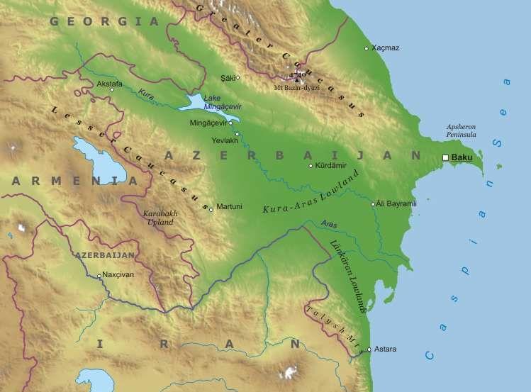 Cartina Asia Occidentale.Carta Fisica Georgia Asia Occidentale Asia Paesi Home Unimondo